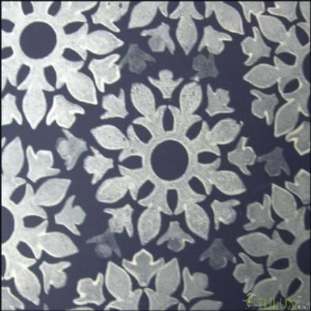 海绵剪纸花朵图案大全